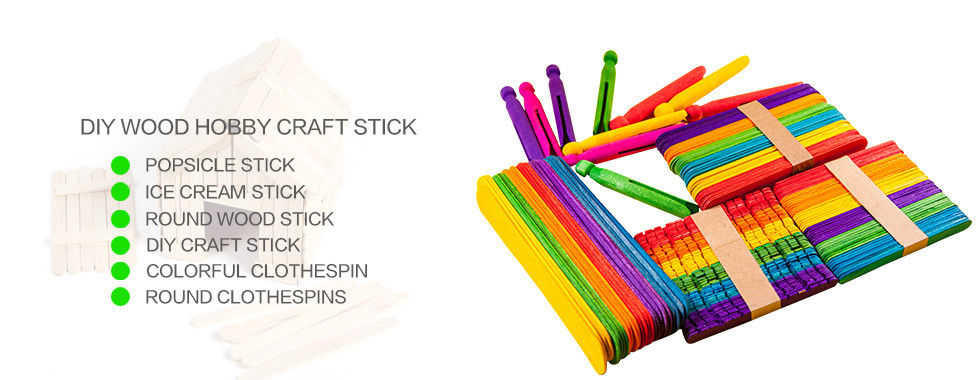 China best Wooden Craft Sticks on sales