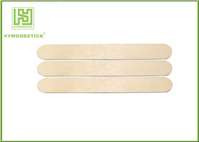 150mm Wooden Tongue Depressor With Paper Wrapped EO Sterilize