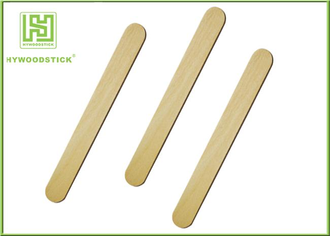 Bacteria Resistant Wooden Tongue Depressor For Health And Beauty Odorless