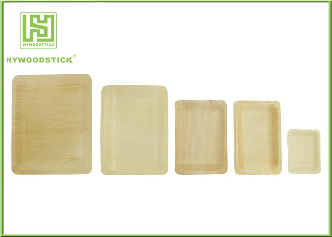 Eco Friendly Disposable Wooden Plates Biodegradable Bamboo Plates Oem