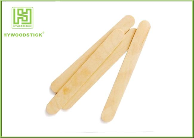 Customized Size Wooden Waxing Spatulas Medical Usage Well Polished