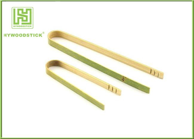 Disposable House Kitchen Wares 15cm Wooden Toaster Tongs For Baking House