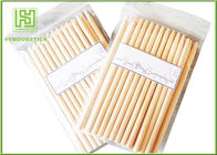 China Two Points Natural Wood Sticks Wooden Dowels For Crafts With Chamfer Angles factory