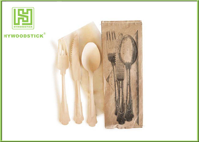 Branded Eco Friendly Dinnerware  Disposable Bamboo Cutlery For Picnic Non - Toxic & Branded Eco Friendly Dinnerware  Disposable Bamboo Cutlery For ...
