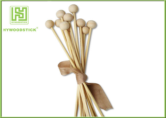 Safety Birch Wood Jumbo Lollipop Sticks , Thick Wooden Treat Sticks For Children