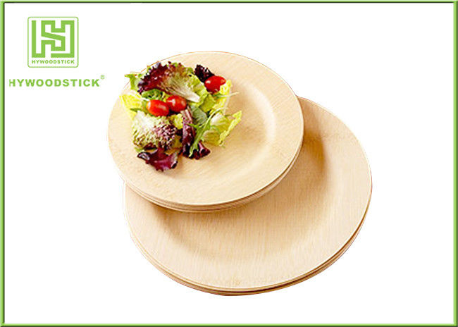 & Natural Color Disposable Bamboo Plates Baby Meal Set Taste - Free
