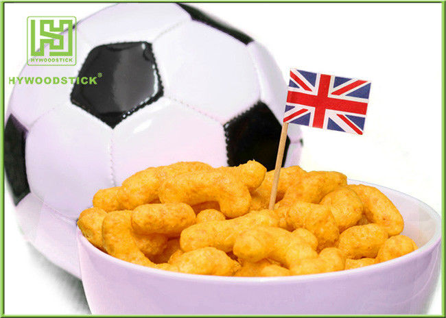 OEM Dinning Event Cake Decoration Toppers Football Cupcake Picks Eco - Friendly