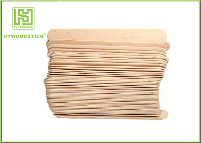 "6"" Wooden Waxing Spatulas Body Waxing Kit For Beauty Salon 100 * 20 * 2mm"