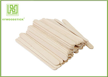 Odorless Wooden Waxing Spatulas Body Wax Applicator 100pcs / White Box