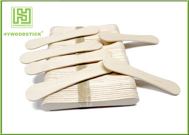 94Mm Ice Cream Wooden Sticks , Ice Cream Distributor Hot Stamping Logo